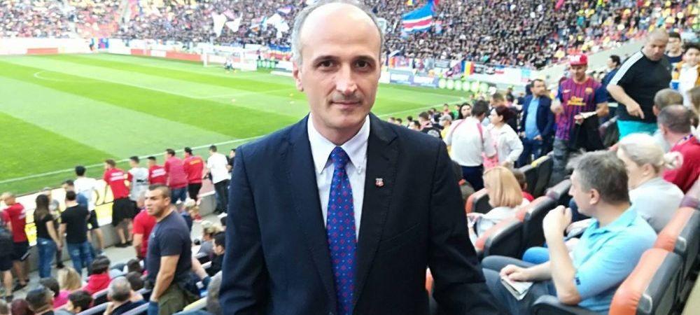 "Florin Talpan, atac fara precedent la conducatorul CSA Steaua dupa ce a castigat palmaresul: ""Vrea sa ma loveasca, sa ma termine!"" RAZBOI la echipa Armatei"