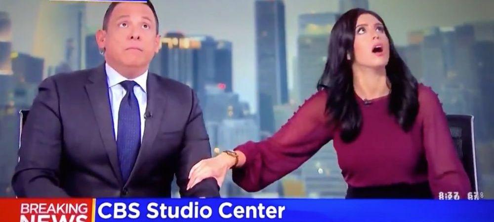 VIDEO Imagini socante surprinse in Statele Unite! Meciuri anulate si programe TV intrerupte dupa ce un cutremur de 7.1 grade a lovit California