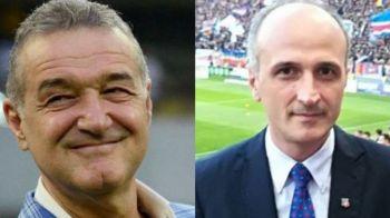 """Gigi Becali il ia in ras pe Florin Talpan: """"Tu vrei 37 de milioane pe un desen?!"""" Patronul FCSB nu da nici macar un euro la CSA"""