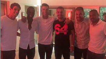 """Jucatorul dat afara de FCSB dupa un singur meci jucat in campionat a petrecut cu Ronaldo: """"Invat de la cel mai bun!"""""""
