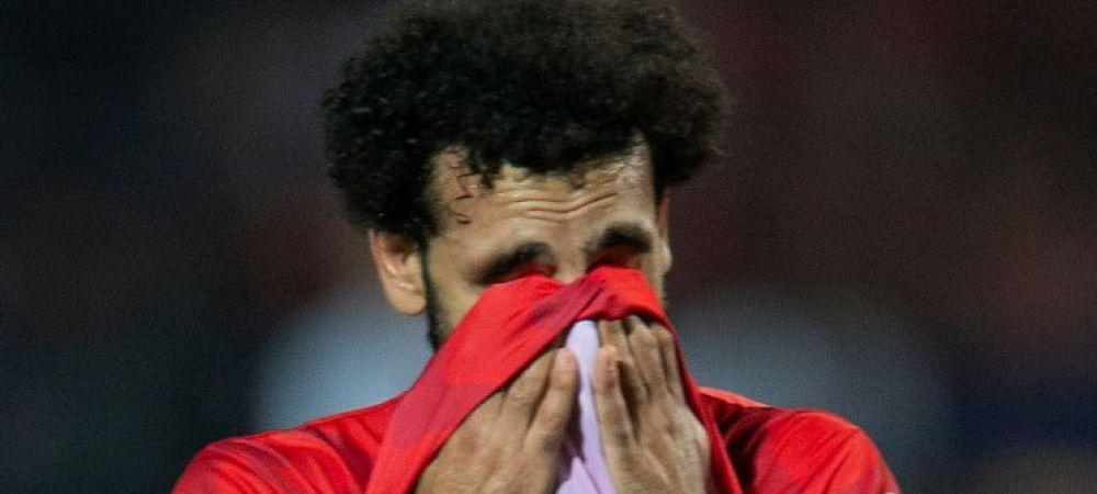 Salah, in lacrimi dupa ce Egipt a parasit Cupa Africii! Imaginile care au facut incojurul lumii