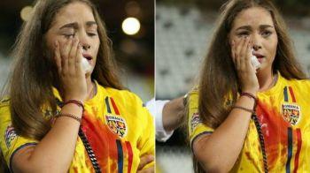 Adio, nebunie! Show in vacanta! Cum arata iubita lui Manea la doua saptamani dupa ce a fost lovita brutal pe stadion
