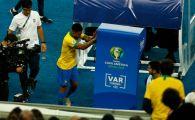 A daramat monitoarele VAR! Gabriel Jesus, momente DE FURIE in finala Copa America: reactie dura in momentul in care a fost eliminat | VIDEO INCREDIBIL