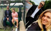 SIMONA HALEP - CORI GAUFF: Darren Cahill a dat-o de gol pe Simona Halep! Ce a facut inainte de duelul cu Cori Gauff de la Wimbledon
