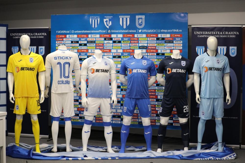 Universitatea Craiova a prezentat noul echipament pentru sezonul 2019/2020: