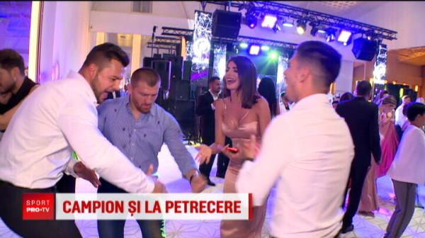 La nunta lui Pastrama, Morosanu a fost regele ringului de dans! Alaturi i-a fost miss Romania, Ioana Filimon