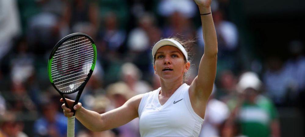 SIMONA HALEP IN SFERTURI LA WIMBLEDON | Calcule pentru clasamentul WTA! Pe ce loc poate urca Simona Halep dupa Wimbledon