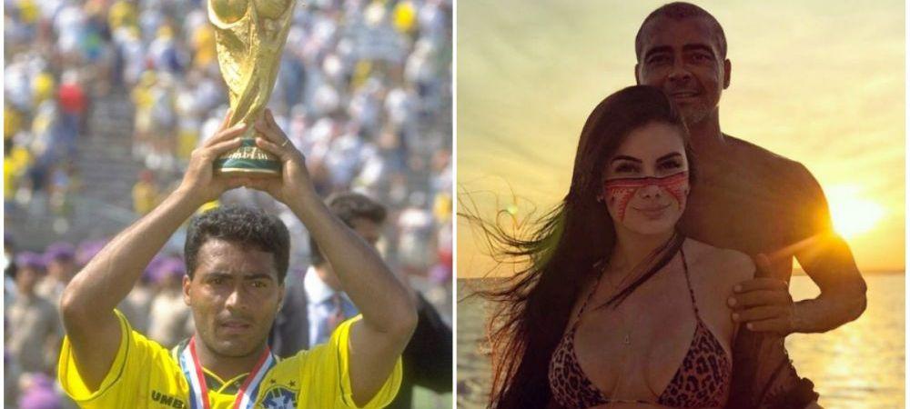 LEGENDA Romario a dat lovitura: s-a cuplat cu o femeie cu 31 de ani mai tanara. FOTO