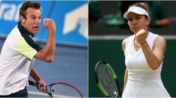 "SIMONA HALEP - SHUAI ZHANG: ""E in forma carierei pe iarba!"" Mats Wilander, cuvinte uriase pentru Halep la Wimbledon"