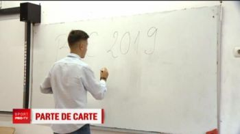 Fotbalistul de zece la BAC vrea sa ia nota maxima si la fotbal! Barcelona e visul cel mare al pustiului premiant de la U Cluj