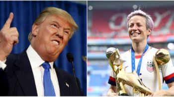 Jucatoarea din nationala SUA care l-ar bate in acest moment pe Trump in cursa pentru presedintia tarii! A provocat discutii aprinse peste ocean!