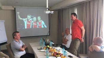 Ajax si-a trimis doi oficiali pentru a discuta cu Gica Hagi! Motivul pentru care olandezii au venit in Romania