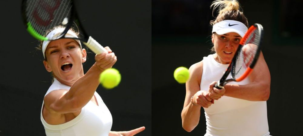 SIMONA HALEP - ELINA SVITOLINA, batalie pentru clasamentul WTA la Wimbledon! Ce loc pot ocupa cele doua jucatoare in functie de rezultatul din semifinale. Clasament WTA LIVE
