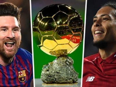 """TOP 3 favoriti la Balonul de Aur! Liverpool are 2 jucatori intre primii 3, Messi este """"intrusul"""". Cum arata cotele in acest moment"""