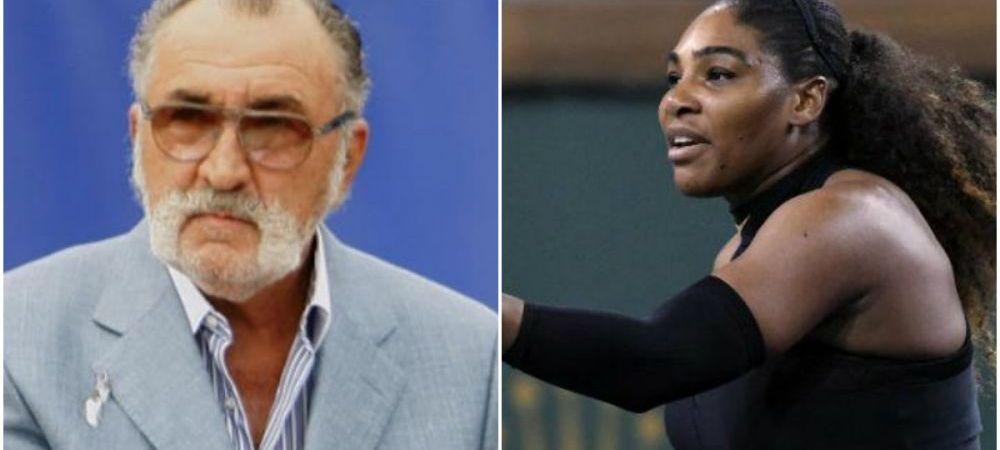 """Babuta aia! Mai are si kilogramele pe care le are!"" Tiriac a vorbit din nou despre Serena Williams, in trecut americanca l-a acuzat de ignoranta si sexism"