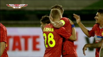 FCSB - Milsami 2-0 | Dubla lui Tanase aduce victoria la Giurgiu! Hora a ratat o ocazie uriasa. VIDEO AICI