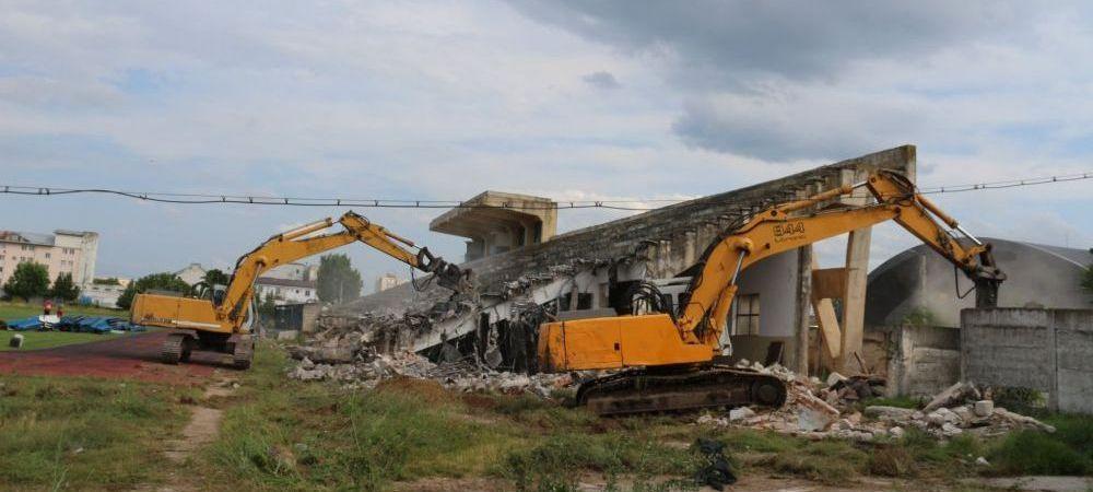 A inceput DEMOLAREA stadionului vechi! In locul lui va fi construita o BIJUTERIE! Cum va arata noul stadion din Alexandria