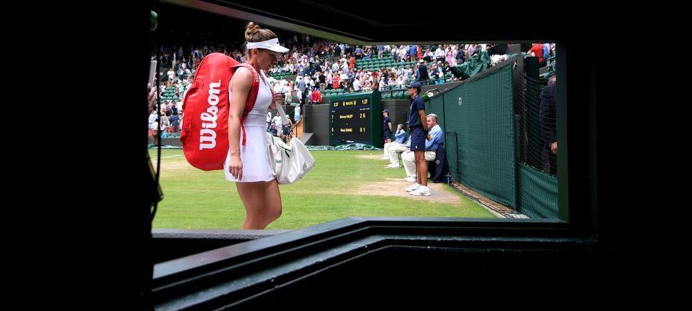 Ce a facut Simona Halep la incalzire, inainte de semifinala cu Svitolina de la Wimbledon! Darren Cahill a facut anuntul la ESPN