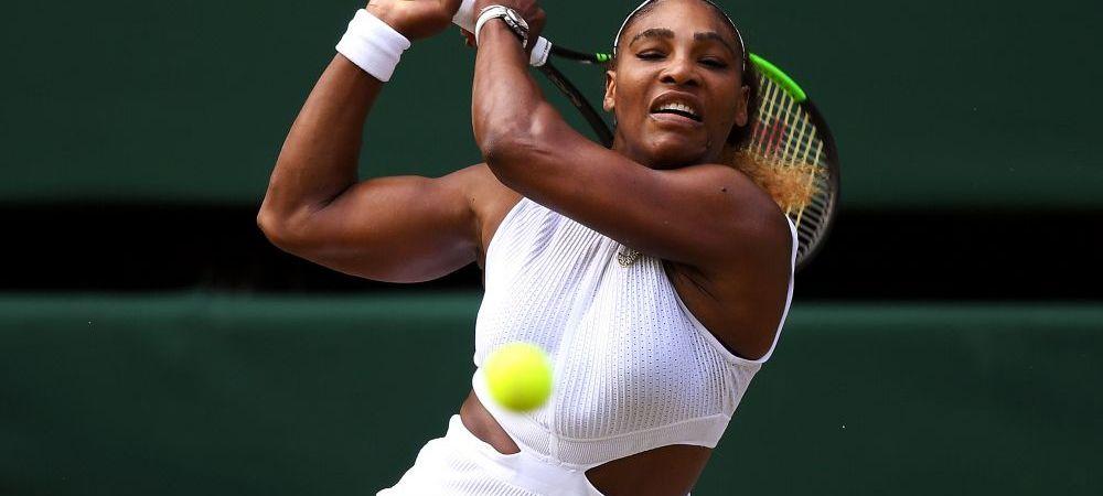 Serena Williams, culoar incredibil pana la finala Wimbledon cu Simona Halep! E al doilea an la rand cand se intampla asta