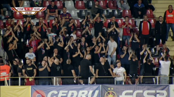 FCSB - MILSAMI la PRO TV | Moment superb la Giurgiu in Europa League! Ce au inceput fanii romani sa strige in minutul 24! Tot stadionul a inceput sa aplaude