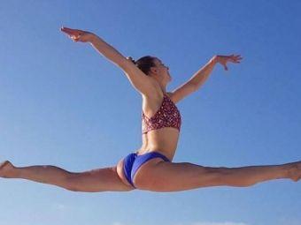 Pozele cu care Sandra Izbasa isi innebuneste fanii pe internet! S-a retras din gimnastica in 2016, dar face furori pe retelele de socializare! Galerie foto
