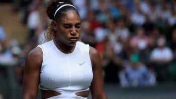 """WIMBLEDON 2019: Serena Williams si-a dezvaluit secretul: """"Fara tehnologie medicala nu eram aici!"""" Ce sportiv a inspirat-o"""