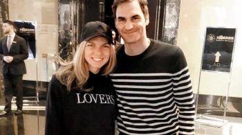 SIMONA HALEP - SERENA WILLIAMS IN FINALA WIMBLEDON   Federer i-a dat un sfat Simonei chiar inaintea finalei! Mesajul elvetianului, dupa ce si el s-a calificat in finala