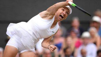 SARBATOARE NATIONALA: SIMONA HALEP A CASTIGAT TROFEUL DE LA WIMBLEDON! Serena Williams, distrusa in mai putin de o ora! Halep - Williams 6-2, 6-2