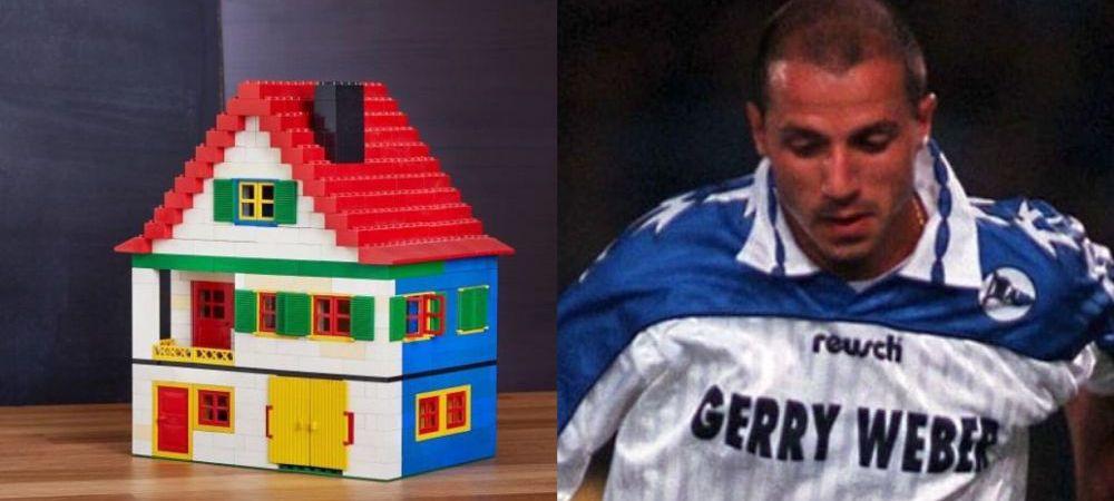 Cea mai nebuna clauza din istoria fotbalului: jucatorul i-a cerut clubului sa ii construiasca o casa si s-a ales cu aceasta casuta lego :) Ce greseala a facut