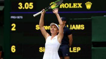 """Simona Halep-Serena Williams 6-2, 6-2   Reactia Serenei Williams dupa ce a Simona a SPULBERAT-O in finala: """"Jos palaria"""""""