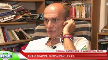 """""""Este cea mai mare victorie din istoria tenisului romanesc!"""" CTP, despre victoria istorica a Simonei Halep la Wimbledon"""