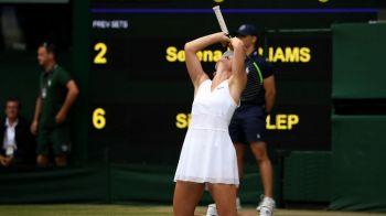 """HALEP - WILLIAMS 6-2, 6-2   Prima reactie a Simonei Halep dupa ce a devenit REGINA IN ANGLIA! """"E visul mamei mele! Mi-a zis ca trebuie sa castig Wimbledon daca vreau sa insemn ceva in tenis!"""""""