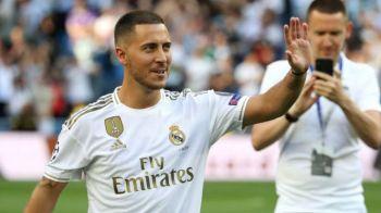 """Hazard si-a ales un numar cu """"greutate"""" la Real Madrid! A fost purtat de multe legende ale clubului! Anuntul zilei in Spania"""