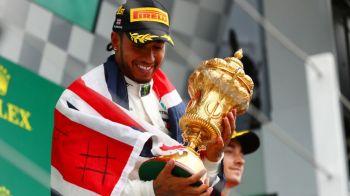 Hamilton, la a 7-a victorie din 10 posibile in acest sezon: a castigat MP al Marii Britanii, de la Silverstone! Clasamentul