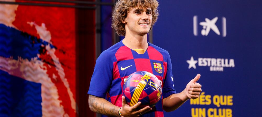 OFICIAL | Griezmann, prezentat de Barca! Ce numar va purta francezul pe Camp Nou: a luat tricoul lui Mendieta si Pedro