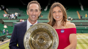 """Simona Halep poate avea parte de o dubla bucurie dupa Wimbledon! Anuntul facut de campioana despre Darren Cahill: """"Poate il va aduce inapoi!"""""""