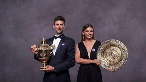 Simona Halep A STRALUCIT la Balul Campionilor! Romanca a petrecut alaturi de intreaga familie: reactia WTA   GALERIE FOTO