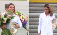 """Sosire Simona Halep VIDEO! Trofeul Wimbledon a ajuns in Romania: """"Va multumesc pentru sustinere"""""""