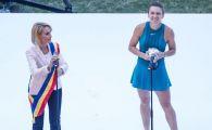 Simona Halep, invitata din nou de Gabriela Firea pe National Arena. Decizia luata de primarul Bucurestiului dupa huiduielile de anul trecut
