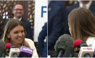 """Faza GENIALA cu Simona Halep la revenirea in tara: """"Esti inregistrat, ai grija!"""" Ce a cerut campioana Wimbledon"""