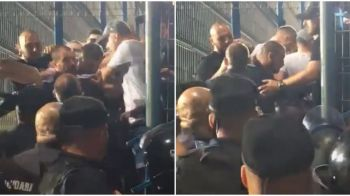 """Ba, nu ne dresezi tu pe noi! Cand ne-am rugat de tine sa vii, n-ai vrut"". Razboi la Dinamo! Ultrasii au facut un scandal monstru la Ovidiu, Prunea a incercat sa-i calmeze: VIDEO"