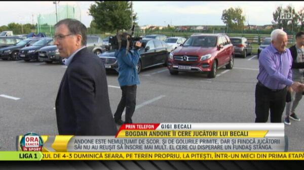 """""""Pot sa bag si un portar fundas stanga!"""" :)) TACTICILE SECRETE ale lui Becali, DEZVALUITE! Cine l-a impresionat in meciul cu Hermannstadt"""