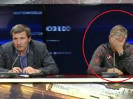 """""""Teroristul"""" Petrescu si translatorul care aproape stia rusa! :)) Dan Petrescu si-a dat palme la conferinta: """"Hai gata ca nu stie sa traduca!"""""""