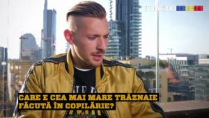 """Ionut Radu era Denis Pericol-Public in copilarie :)) Amintirile portarului de la tineret: """"Am vrut sa fac si eu o foarfeca pe asfalt..."""" Ce a patit"""
