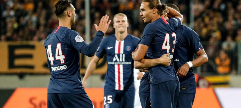 GOOOL Postolachi! Romanul de la PSG a marcat cu o executie a la Ibrahimovic, din pasa lui Mbappe! VIDEO