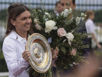 Simona Halep aduce trofeul Wimbledon pe National Arena LIVESTREAM, ora 19:00! Urmareste aici tot evenimentul