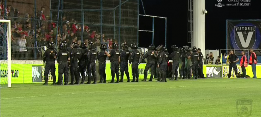 Decizia luata de Comisia de Disciplina dupa incidentele de la Viitorul - Dinamo! Ce se va intampla la derby-ul cu Craiova