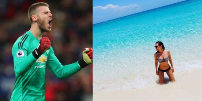 David de Gea, portarul celor de la Manchester United are o iubita superba. Cine este Edurne Garcia