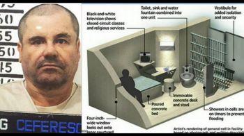 De aici e imposibil sa evadeze! Cum arata celula in care El Chapo va trai izolat toata viata