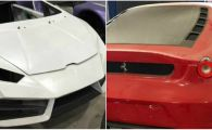 Fabrica de Ferrari si Lamborghini FALSE inchisa de politisti! Cu cat se vindea o masina. FOTO
